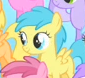Size: 85x78 | Tagged: safe, screencap, rainy feather, pegasus, pony, the cutie mark chronicles, background pony, cropped, female, filly, foal, picture for breezies, solo focus