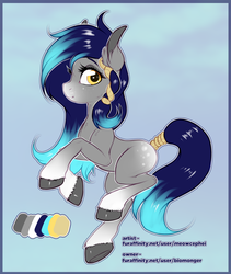 Size: 2130x2520 | Tagged: safe, artist:meowcephei, oc, oc only, earth pony, pony, commission, reference sheet, solo