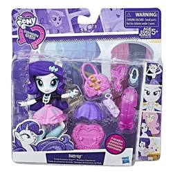 Size: 1000x1000   Tagged: safe, fluttershy, rainbow dash, rarity, pony, equestria girls, box, clothes, doll, equestria girls minis, female, hasbro, heart, human ponidox, irl, jewelry, liar, logo, minis, my little pony, necklace, photo, purple and black background, self ponidox, style, toy