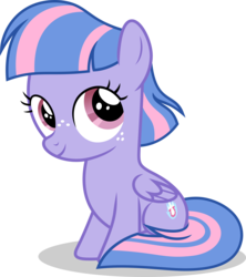 Size: 5000x5633 | Tagged: safe, artist:luckreza8, wind sprint, pegasus, pony, common ground, spoiler:s09e06, cute, female, filly, freckles, simple background, solo, sprintabetes, transparent background, vector