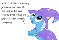 Size: 1280x883   Tagged: safe, artist:evil-dec0y, trixie, pony, unicorn, comic:trixie vs., cape, clothes, female, hat, mare, raised hoof, simple background, solo, trixie's cape, trixie's hat, white background