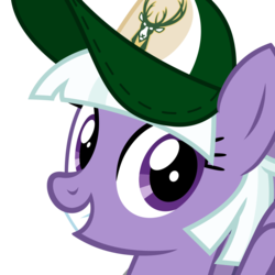 Size: 1000x1000 | Tagged: appointed rounds, artist:cheezedoodle96, baseball cap, basketball, bust, cap, cute, female, hat, looking at you, mare, milwaukee bucks, nba, pegasus, pony, portrait, safe, simple background, smiling, solo, sports, spread wings, transparent background, vector, wings, wisconsin