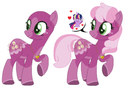 Size: 563x410 | Tagged: alicorn, alternate design, artist:superrosey16, base used, cheerilee, pony, safe, simple background, solo focus, transparent background, twilight sparkle, twilight sparkle (alicorn)