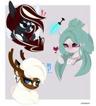 Size: 3800x4200 | Tagged: safe, artist:xsatanielx, oc, oc only, pony, bust, female, mare, portrait, rcf community