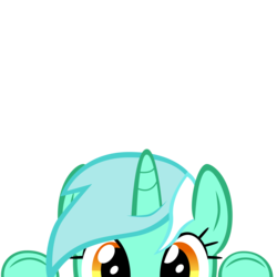 Size: 10000x10000 | Tagged: absurd res, artist:mrkat7214, cute, lyrabetes, lyra heartstrings, part of a set, peekaboo, peeking, pony, safe, simple background, solo, soon, transparent background, unicorn, vector
