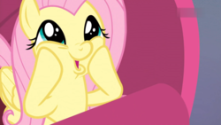 Size: 1824x1026 | Tagged: cute, dashface, female, fluttershy, mare, meme face, pegasus, pony, safe, screencap, shyabetes, so awesome, spoiler:s09e09, sweet and smoky