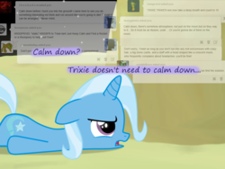 Size: 1200x900 | Tagged: age regression, artist:evil-dec0y, comic:trixie vs., comic:trixie vs. the moon, female, filly, filly trixie, moon, pony, safe, solo, trixie, younger