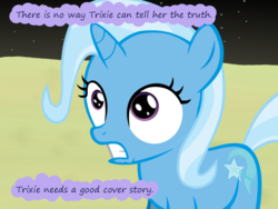 Size: 1200x900 | Tagged: age regression, artist:evil-dec0y, comic:trixie vs., female, filly, filly trixie, moon, pony, safe, solo, trixie, trixie vs the moon, younger
