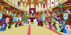 Size: 4364x2203 | Tagged: safe, artist:vector-brony, wild fire, oc, oc:acrylic, oc:antonyc, oc:any pony, oc:bonniecorn, oc:brawny buck, oc:buc brony, oc:cannedcream, oc:cellspex, oc:clover keen, oc:crowne prince, oc:curse word, oc:dawillstanator, oc:digibrony, oc:dr. wolf, oc:drowninginhorseshoes, oc:eilemonty, oc:eliyora, oc:emogak, oc:equestrapology, oc:fausticorn, oc:finn the pony, oc:firebrand, oc:fngr, oc:galaxy art, oc:goldenfox, oc:ilovekimpossiblealot, oc:ink rose, oc:keeneye47, oc:keyframe, oc:lethalauroramage, oc:lightning bliss, oc:liradaeris, oc:mad munchkin, oc:magpie, oc:mandopony, oc:mangajag, oc:nowacking, oc:obabscribbler, oc:pauly sentry, oc:persian poetess, oc:redcord pony, oc:rigifan32, oc:riquis, oc:rose pal, oc:sapphire heart song, oc:scribbler, oc:silver quill, oc:sweetie bloom, oc:thespio, oc:toonkriticy2k, oc:tyandaga, oc:viva reverie, oc:voice of reason, alicorn, changeling, deer, earth pony, griffon, pegasus, pony, unicorn, 2015, alicorn oc, banner, bells, bonnie zacherle, changeling oc, christmas, christmas tree, christmas wreath, deer oc, eilemonty, female, finn the human, glasses, goggles, griffon oc, happy holidays, holiday, inkscape, lauren faust, male, mare, memj0123, ponified, red changeling, sibsy, stallion, tree, vector, wreath