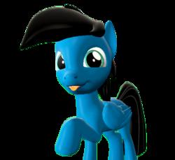 Size: 3600x3300 | Tagged: safe, artist:agkandphotomaker2000, oc, oc:pony video maker, pony, 3d, :p, male, source filmmaker, tongue out