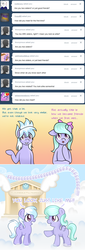 Size: 500x1466 | Tagged: artist:ponykaefer, ask, ask flitter and cloudchaser, cloudchaser, female, filly, flitter, pony, safe, tumblr