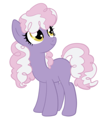 Size: 1589x1771 | Tagged: safe, artist:lightwolfheart, oc, earth pony, pony, female, mare, offspring, parent:cheerilee, parent:silver zoom, simple background, solo, transparent background