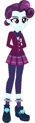 Size: 165x575 | Tagged: artist:selenaede, artist:sturk-fontaine, clothes, crystal prep academy uniform, equestria girls, female, principal abacus cinch, safe, school uniform, solo, solo female, younger, younger cinch