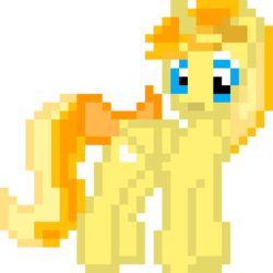 Size: 960x960 | Tagged: alicorn, alicorn oc, artist:joeydr, bow, derpibooru, derpibooru exclusive, derpibooru ponified, female, folded wings, hairclip, looking back, mare, meta, oc, oc:favourite, oc only, pixel art, ponified, pony, ribbon, safe, simple background, solo, tail bow, transparent background, wings