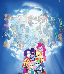 Size: 519x600 | Tagged: safe, editor:mr. gumball, applejack, fluttershy, pinkie pie, rainbow dash, rarity, sci-twi, scootaloo, sunset shimmer, twilight sparkle, equestria girls, equestria girls series, adventure time, avatar the last airbender, cartoon heaven, chowder, codename kids next door, courage the cowardly dog, danny phantom, dexter's laboratory, ed edd n eddy, end of ponies, foster's home for imaginary friends, geode of empathy, geode of fauna, geode of shielding, geode of super speed, geode of super strength, geode of telekinesis, good end, gravity falls, heaven, humane five, humane seven, humane six, invader zim, johnny bravo, magical geodes, megas xlr, mordecai, mordecai and rigby, op is wrong, phineas and ferb, regular show, rigby, the end of equestria girls, the grim adventures of billy and mandy, the powerpuff girls