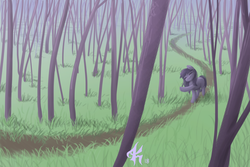 Size: 3672x2460 | Tagged: artist:katputze, cute, forest, oc, pony, road, safe, scenery
