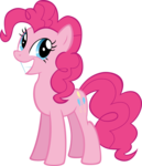 Size: 8800x10219 | Tagged: safe, artist:mrkat7214, pinkie pie, pony, absurd resolution, cute, female, grin, mare, simple background, smiling, solo, transparent background, vector