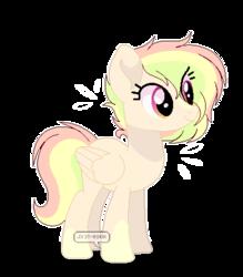 Size: 393x448 | Tagged: safe, artist:jxst-roch, oc, pegasus, pony, base used, female, mare, offspring, parent:rainbow dash, parent:sunburst, parents:rainburst, simple background, solo, transparent background