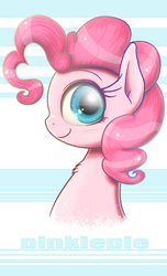 Size: 1440x2368   Tagged: safe, alternate version, artist:phoenixrk49, pinkie pie, earth pony, pony, female, looking at you, mare, smiling, solo