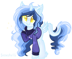 Size: 1540x1260 | Tagged: safe, artist:snowshy16, oc, oc only, pony, unicorn, base used, blushing, female, leonine tail, mare, simple background, solo, transparent background