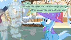 Size: 1280x720 | Tagged: safe, artist:evil-dec0y, trixie, oc, pony, comic:trixie vs., comic:trixie vs. hearth's warming
