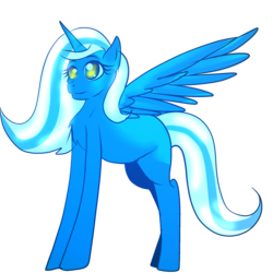 Size: 2000x2000 | Tagged: safe, artist:sakimiaji, oc, oc:fleurbelle, alicorn, pony, alicorn oc, cute, female, mare, sweet, yellow eyes