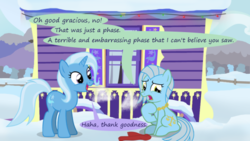Size: 500x281 | Tagged: safe, artist:evil-dec0y, trixie, oc, pony, comic:trixie vs., comic:trixie vs. hearth's warming