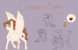 Size: 1920x1235 | Tagged: safe, artist:ganashiashaka, oc, oc:cinnamon spice, pegasus, pony, male, offspring's offspring, solo, stallion, tree