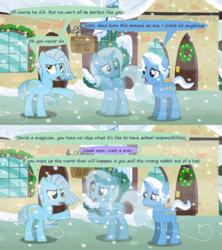 Size: 1280x1440 | Tagged: safe, artist:evil-dec0y, jack pot, trixie, oc, pony, comic:trixie vs., comic:trixie vs. hearth's warming