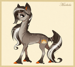 Size: 2111x1897 | Tagged: safe, artist:marbola, oc, oc only, earth pony, pony, female, looking at you, mare, solo, unshorn fetlocks