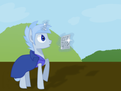 Size: 2048x1536 | Tagged: book, concerned, concerned pony, oc, oc:pony.voltexpixel.com, paper, pony, safe, solo, unicorn
