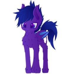 Size: 400x400 | Tagged: animated, animated png, artist:lexifyrestar, bat pony, bat pony oc, cutiemarking, fangs, oc, pony, safe, simple background, transparent background