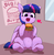 Size: 2545x2623 | Tagged: alicorn, artist:pabbley, belly button, burger, chest fluff, cute, ear fluff, food, happy, heart, heart eyes, hoof hold, open mouth, pony, safe, solo, twiabetes, twilight burgkle, twilight sparkle, twilight sparkle (alicorn), wingding eyes