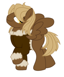 Size: 1255x1511 | Tagged: artist:musical-medic, bomber jacket, clothes, jacket, magical gay spawn, male, oc, oc:barbell, offspring, parent:dumbbell, parent:hoops, pegasus, pony, safe, simple background, solo, stallion, transparent background