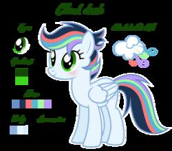 Size: 1024x900 | Tagged: safe, artist:liya04, oc, oc:cloud dash, pegasus, pony, female, mare, offspring, parent:rainbow dash, parent:soarin', parents:soarindash, reference sheet, simple background, solo, transparent background