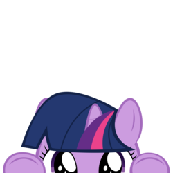 Size: 10000x10000 | Tagged: safe, artist:mrkat7214, part of a set, twilight sparkle, pony, unicorn, absurd resolution, book, cute, female, filly, filly twilight sparkle, peekaboo, peeking, simple background, solo, soon, that pony sure does love books, transparent background, twiabetes, unicorn twilight, younger