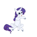 Size: 1200x1200 | Tagged: safe, artist:hippykat13, artist:sabokat, artist:trichykitty, rarity, pony, unicorn, cute, female, hooves, simple background, sitting, solo, transparent background