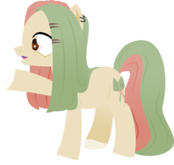 Size: 8154x7720 | Tagged: safe, artist:babyroxasman, oc, pony, lineless, male, piercing, simple background, solo, stallion, transparent background, vector
