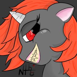 Size: 1000x1000 | Tagged: avatar, oc, oc:nth, pony, safe, unicorn