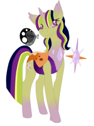 Size: 3492x4656 | Tagged: safe, artist:technowriter15, oc, oc only, changedling, changeling, changepony, hybrid, interspecies offspring, next generation, offspring, parent:thorax, parent:twilight sparkle, parents:twirax, simple background, smiling, transparent background