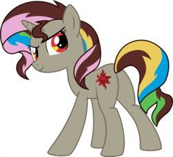 Size: 1920x1754 | Tagged: discord, edit, fusion, palette swap, ponyar fusion, recolor, safe, simple background, solo, sunset shimmer, transparent background, vector, vector edit