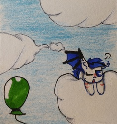 Size: 2262x2394   Tagged: safe, artist:bbluna, oc, bat pony