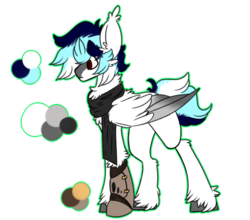 Size: 1223x1074 | Tagged: amputee, artist:babumilkshake, oc, oc:could locker, oc only, pegasus, pony, prosthetic limb, prosthetics, reference sheet, robotic legs, safe, simple background, solo, transparent background