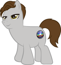Size: 865x923   Tagged: safe, artist:neikoucascos, oc, oc:faustao, pony, brazil, fat, faustao, male, no neck, ponified, rede globo, rule 85, sexy, smug, stallion