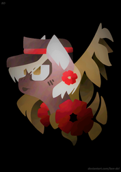 Size: 756x1066 | Tagged: safe, artist:ben-del, oc, earth pony, pony, solo
