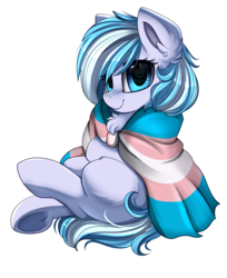 Size: 1774x2174 | Tagged: artist:pridark, commission, earth pony, female, mare, oc, oc only, pony, pride month, safe, simple background, smiling, solo, transparent background
