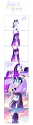 Size: 1606x6000 | Tagged: alicorn, artist:iheyyasyfox, baby, baby pony, comic, crib, diaper, female, magic, mare, mother and daughter, oc, oc:stella alba nyx, offspring, parent:flash sentry, parents:flashlight, parent:twilight sparkle, pony, safe, twilight sparkle, twilight sparkle (alicorn), unicorn