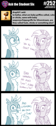 Size: 800x1794 | Tagged: safe, artist:sintakhra, gallus, silverstream, classical hippogriff, griffon, hippogriff, tumblr:studentsix, cute, diastreamies, female, gallabetes, male, stair keychain
