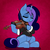 Size: 5080x5080 | Tagged: safe, artist:niggerdrawfag, oc, oc:aurora shine (loe), pony, unicorn, commission, simple background, solo, violin