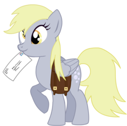 Size: 936x927 | Tagged: artist needed, derpy hooves, pegasus, pony, safe, simple background, solo, transparent background